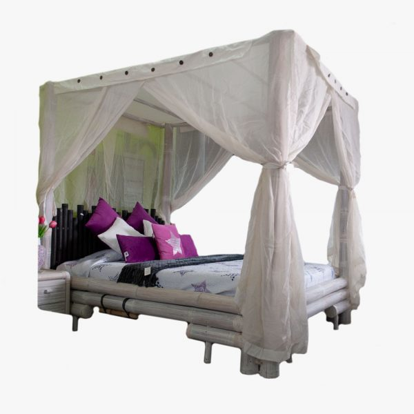 BED BAMBOO WHITE